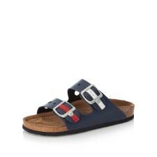 Rieker 'V9376' Ladies Sandals (Navy)