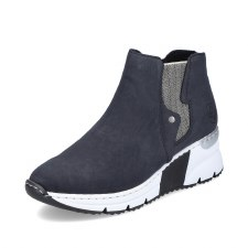 Rieker 'X6361' Ladies Ankle Boots (Navy/White)