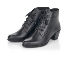 Rieker 'Y2100' Ladies Ankle Boots (Black)