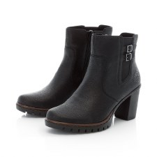 Rieker 'Y2569' Ladies Ankle Boots (Black)