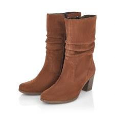 Rieker 'Y8983' Ladies Long Boots (Tan)