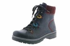 Rieker 'Y9433' Ladies Ankle Boots (Navy)
