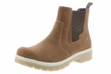 Rieker 'Y9454' Ladies Ankle Boots (Tan)