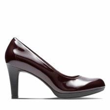 Clarks 'Adriel Viola' Ladies Heels (Aubergine)