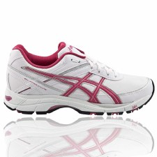 Asics 'Fit Walk' Womens Walking Shoes (White)