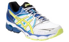 Asics 'Pulse 6' Mens Trainers (White/Yellow)
