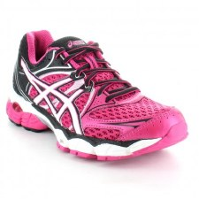 Asics 'Pulse 6' Ladies Trainers (Hot Pink/White)