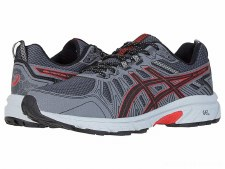 Asics 'Venture-7' Mens Trainers (Grey/Red)