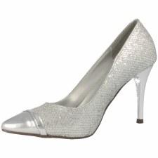 Barino '298'  Ladies Heels (Silver)