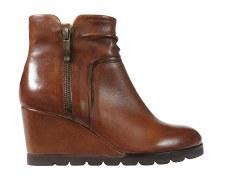 Regarde Le Ciel 'Beth' Ladies Ankle Boots (Cognac)