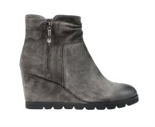 Regarde Le Ciel 'Beth' Ladies Ankle Boots (Grey Suede)