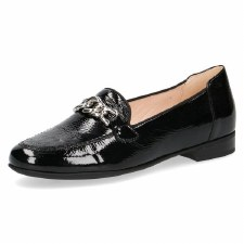 Caprice '24203' Ladies Flats (Black Patent)