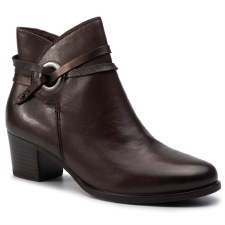Caprice '25326' Ladies Ankle Boots (Brown Combi)