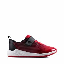 Clarks 'Aeon Pace' Boys Trainers (Red)
