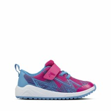 Clarks 'Aeon Pace Toddler' Childrens Trainers (Pink Combi)