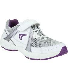 Clarks 'AirStamina BL' Girls Sport Shoes (White)