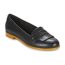Clarks 'Andora Crush' Ladies Loafers (Black)