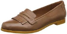 Clarks 'Andora Crush' Ladies Loafers (Tan)
