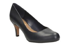 Clarks 'Arista Abe' Ladies Heels (Navy)