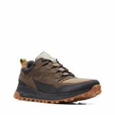 Clarks 'ATL TrekLoGTX' Mens Shoes (Dark Olive)