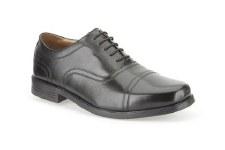 Clarks 'Beeston Cap' Mens Shoes (Black)
