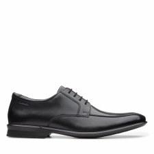 Clarks 'Bensley Run' Mens Shoes (Black)