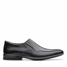 Clarks 'Bensley Step' Mens Shoes (Black)