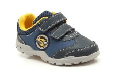 Clarks 'Brite Wing' Boys First Shoes (Blue Combi)