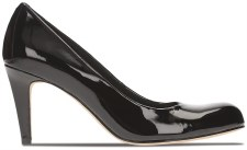 Clarks 'Carlita Cove' Ladies Heels (Black Patent)