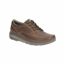 Clarks 'Charton Vibe' Mens Shoes (Brown)