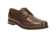 Clarks 'Coling Limit' Mens Shoes (Tan)