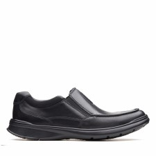 Clarks 'Cotrell Free' Mens Shoes (Black Smooth)
