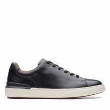 Clarks 'CourtLite Lace' Mens Shoes (Black)