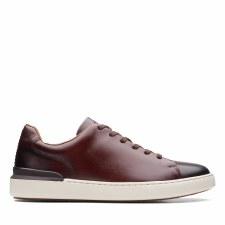 Clarks 'CourtLite Lace' Mens Shoes (Dark Tan)
