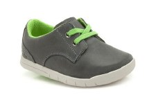 Clarks 'Crazy Rock' Boys First Shoes (Denim)