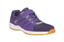 Clarks 'Cross Dart Jnr' Girls Sport Shoes (Purple Combi)