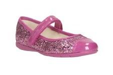 Clarks 'Dance Idol Pre' Girls Pomps (Pink)
