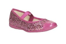 Clarks 'Dance Solo Inf' Girls Pomps (Pink)