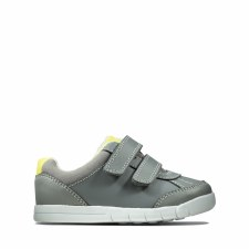 Clarks 'Emery Sky Toddler' Boys Shoes (Grey)