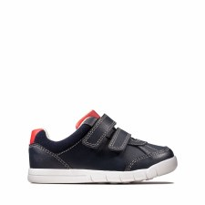 Clarks 'Emery Sky Toddler' Boys Shoes (Navy)