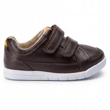 Clarks 'Emery Walk' Boys Shoes (Brown)