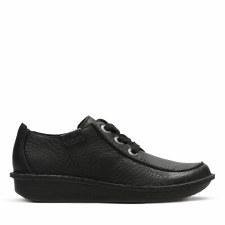 Clarks 'Funny Dream' Ladies Shoes (Black)