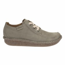 Clarks 'Funny Dream' Womens Shoes (Sage Nubuck)