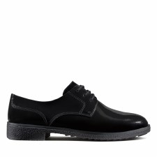 Clarks 'Griffin Lane' Ladies Shoes (Black Patent)