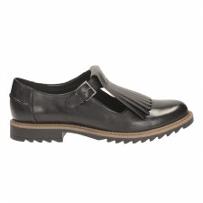 Clarks 'Griffin Mia' Ladies Shoes (Black)
