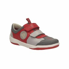Clarks 'JetSkyBuzz Inf' Boys Shoes (Red)