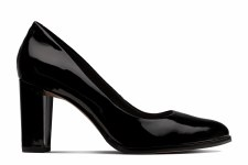 Clarks 'Kaylin Cara' Ladies Heels (Black Patent)
