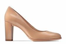 Clarks 'Kaylin Cara' Ladies Heels (Praline Patent)