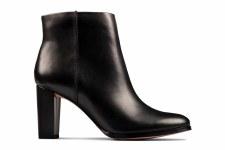 Clarks 'Kaylin Fern 2' Ladies Ankle Boots (Black)