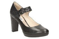 Clarks 'Kendra Gaby' Ladies Heels (Black)